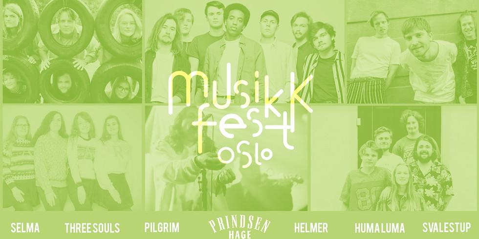 Musikkfest 2020 på Prindsen Hage