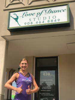 Love of Dance Sign & Owner