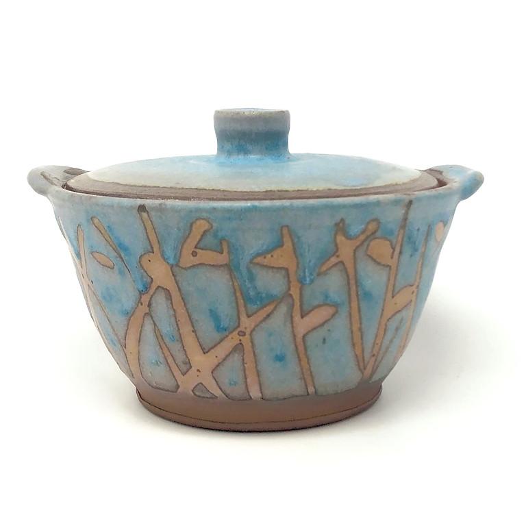 Backyard Pottery Sale at Peter Jadoonath's studio