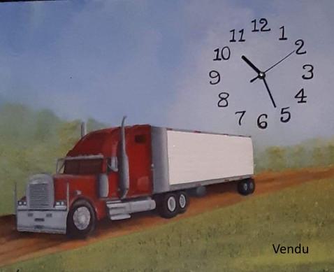 camion horloge