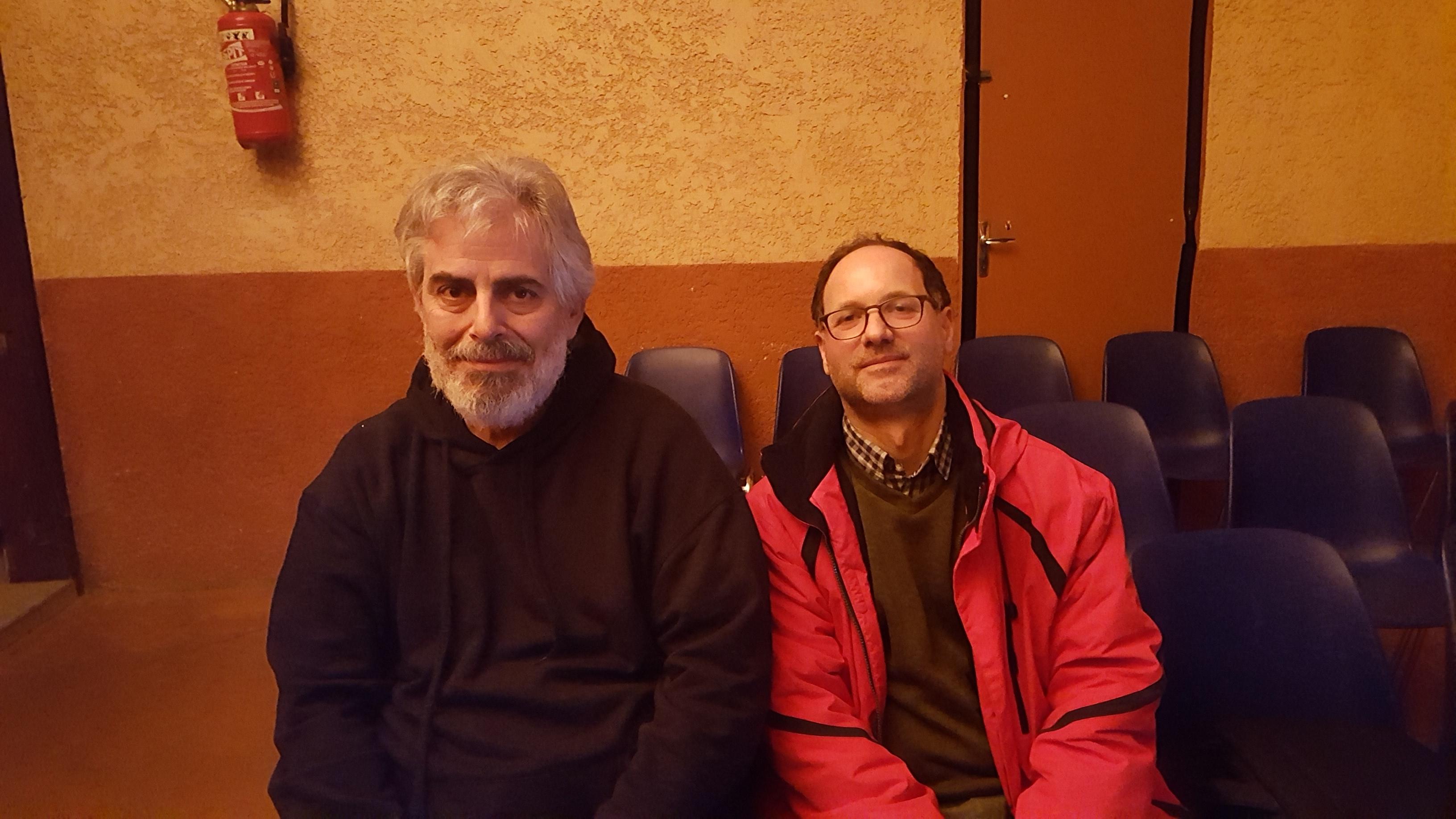 Con Antonio Coppola