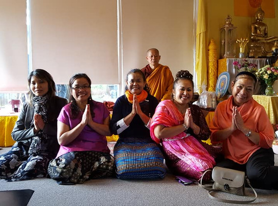 The end of Buddhist Lent Day 27 October 2018