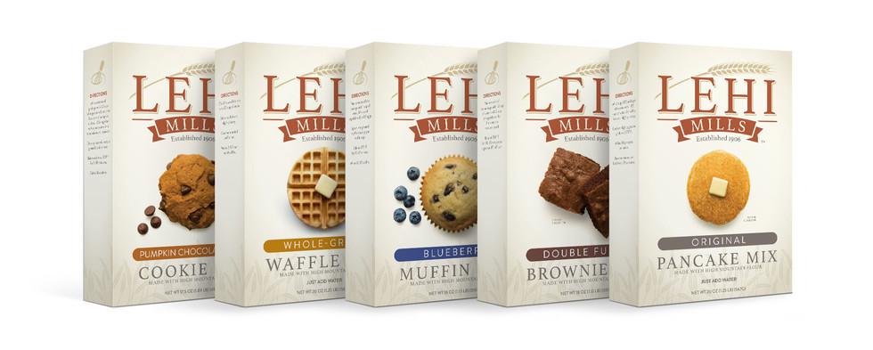 Lehi Mills Product Packaging