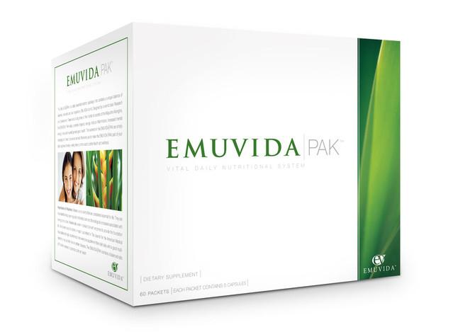 Emuvida Multivitamin Pack Packaging