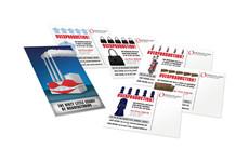 Overstock.com Media Kit Postcards