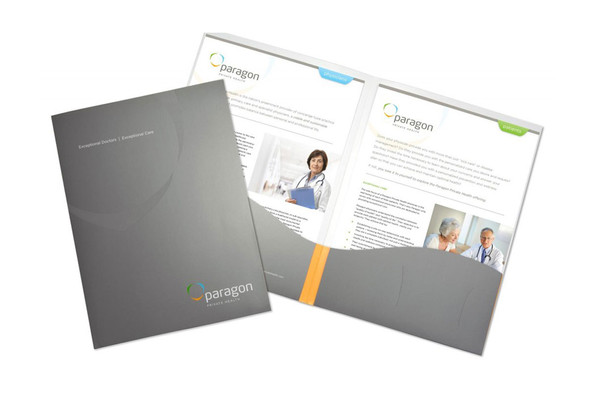 Paragon Private Health Kit Cover and Sellsheets