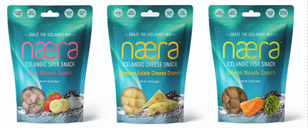 Næra Icelandic Snacks Packaging