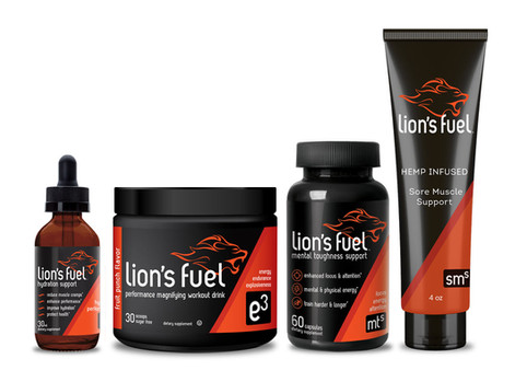 Lion's Fuel Fitness Products