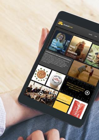 Ludwig Mathias Website Design Brandhive