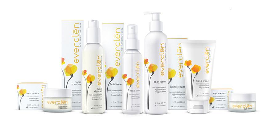 Everclen Skincare Packaging