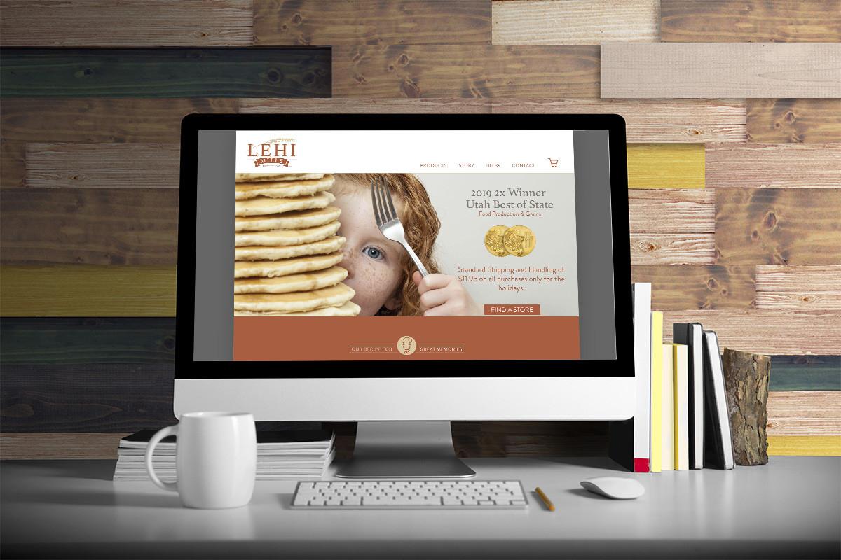 Ludwig Mathias Website Design Lehi Mills