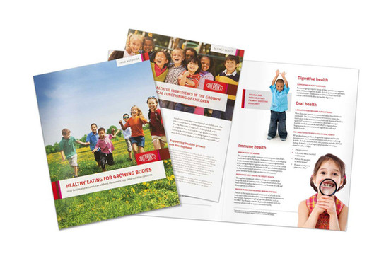Dupont Child Nutrition Brochure