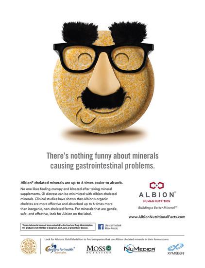 Albion Minerals Print Ad