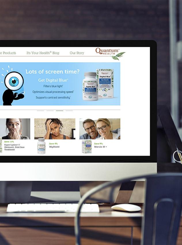 Ludwig Mathias Website Design Quantum Health