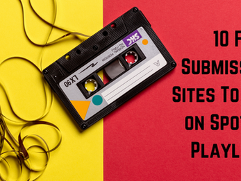 10 Free Submission Sites To Get on Spotify Playlists
