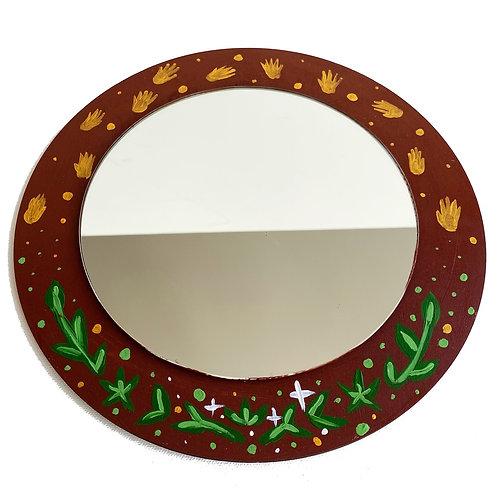 Acacia Tree Mirror