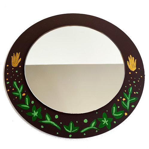 Blackwood Tree Mirror