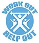 Work Out Help Out Logo