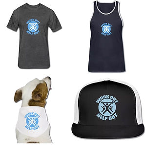 Work Out Help Out Apparel