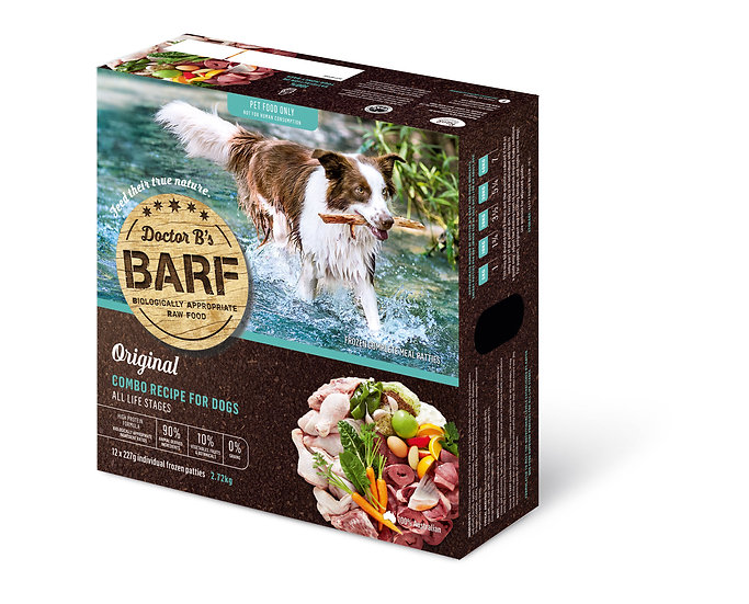 Doctor B's BARF Combo Recipe for Dogs