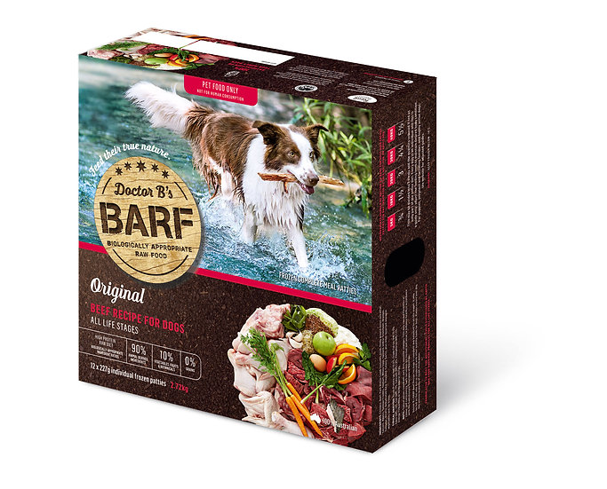 Doctor B's BARF Beef Recipe for Dogs