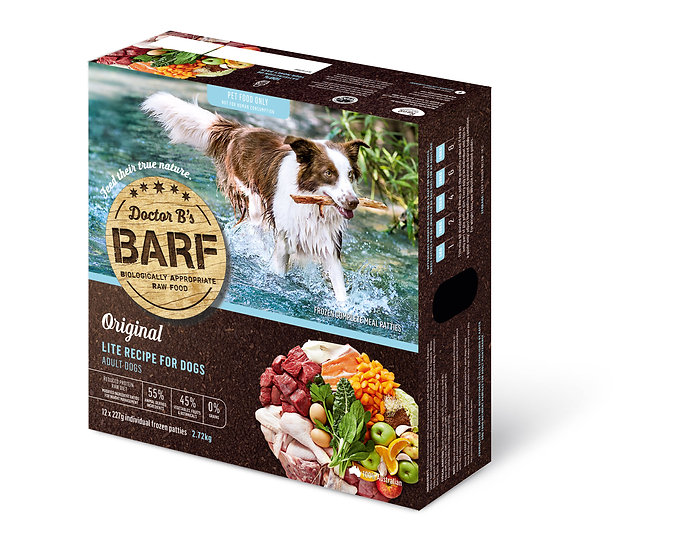 Doctor B's BARF Lite Recipe for Dogs