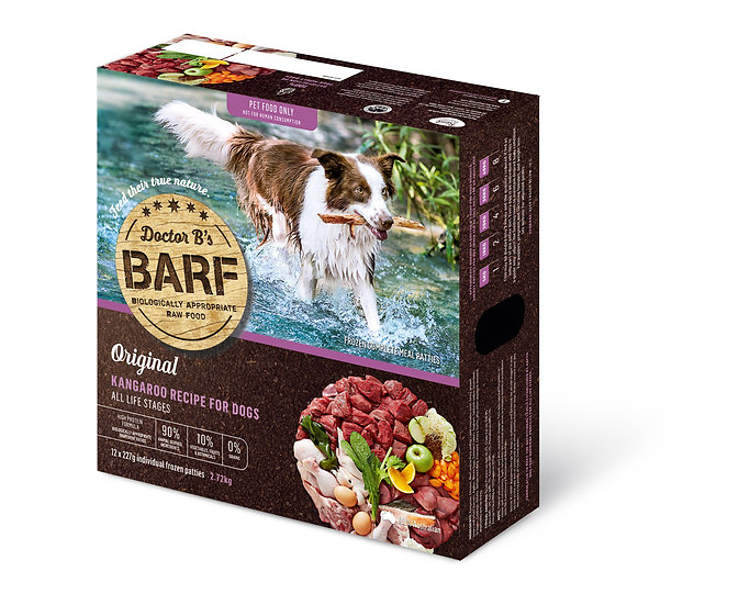 Doctor B's BARF Kangaroo Recipe for Dogs