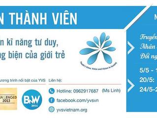 CLB YVS Hà Nội tuyển thành viên