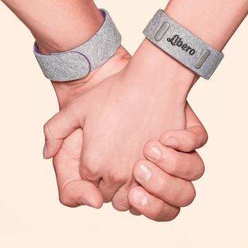 The World's Forst Pregnancy Bracelet for Two