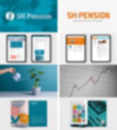 SH Pension Överblick av ny identitet