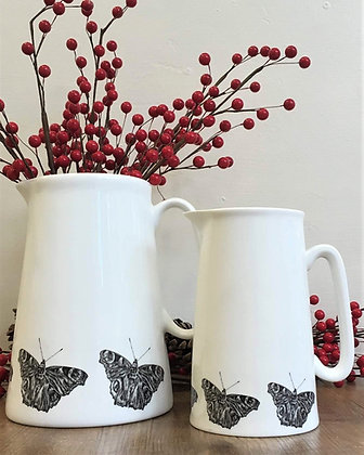 Farmhouse Jug with Butterfly from