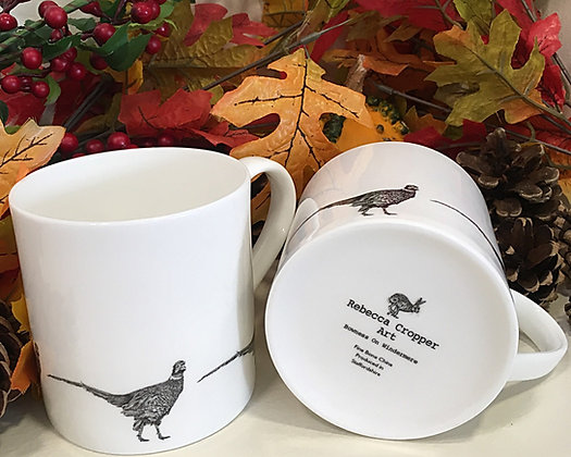 Balmoral Mug with Pheasant