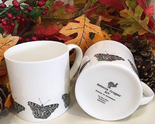 Balmoral Mug with Butterfly