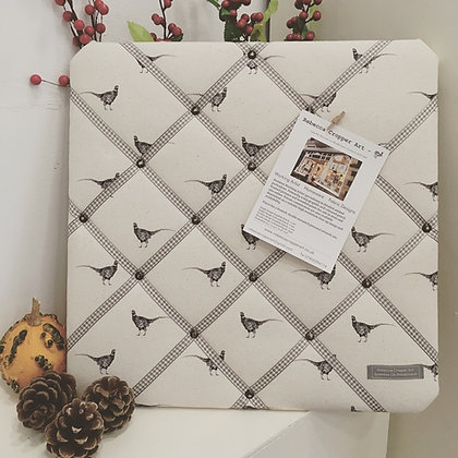 Memo Board with Pheasant