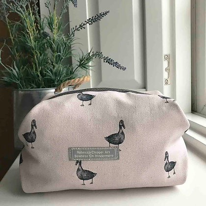 Cosmetic Bag with Duck