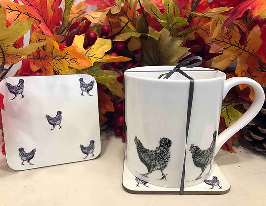 Gift Set with Hen