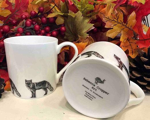 Balmoral Mug with Fox