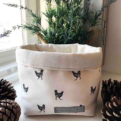 Storage Box with Hen