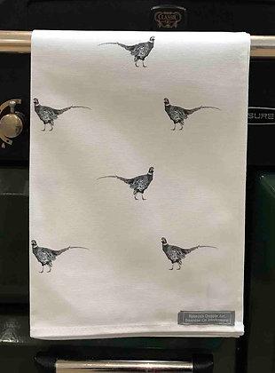 Tea Towel with Pheasant