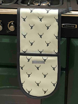 Oven Glove with Stag Head