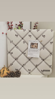 Memo Board with Running Hare