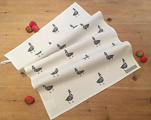 Tea Towel with Duck
