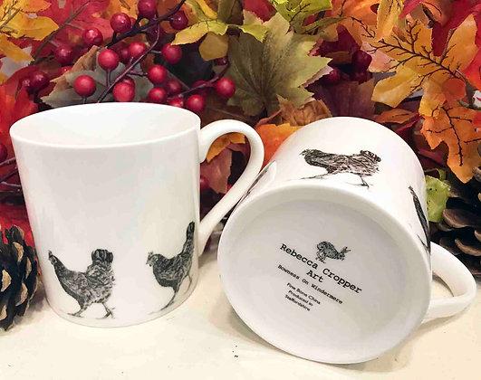 Balmoral Mug with Hen
