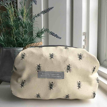 Cosmetic Bag with Bumblebee