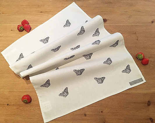 Tea Towel with Butterfly