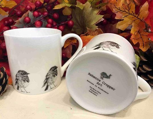 Balmoral Mug with Robin