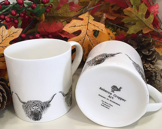 Balmoral Mug with Highland Cow