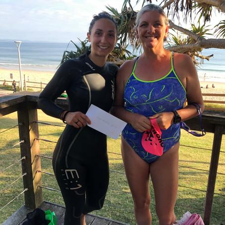 Winter Swim Challenge Winners
