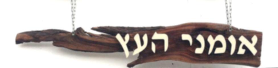 אומני העץ אילת לוגו