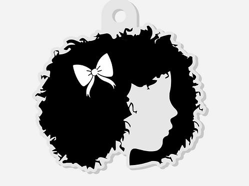 Knotty Girl Brand Keychain